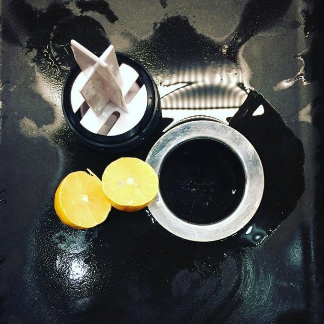 Чистка диспоузера лимоном