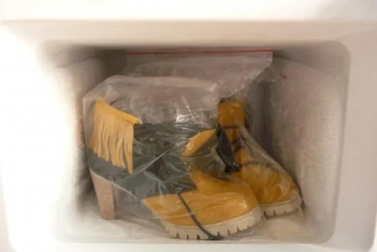 Удаление запаха обуви